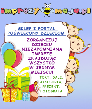 imprezy-maja.pl - Organizacja przyjęć i imprez dla dzieci