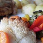 Kurczak w foli z warzywami