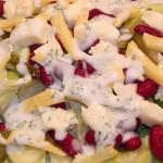 Sałatka z czerwoną fasolką i ogórkiem kiszonym (3)
