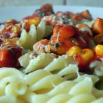Kurczak w słodkim sosie pomidorowym (2)