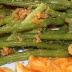 Fasolka szparagowa z bułką tartą 1