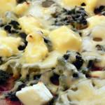 Pizza z jarmużem (1)