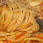 Spaghetti w sosie pomidorowo-paprykowym 3