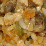 Risotto z kurczakiem i pieczarkami (4)