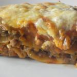 Lasagne z mięsem i pieczarkami 5