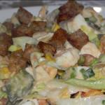 Sałatka warzywna z mozzarellą (4)