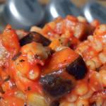 Pęczak z bakłażanem i pomidorami 2