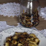 Kopytka z kaszy jaglanej z grzybami (3)