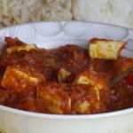 Paneer w sosie pomidorowo-paprykowym 3