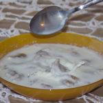 Kluski Orkiszowe z mlekiem (2)